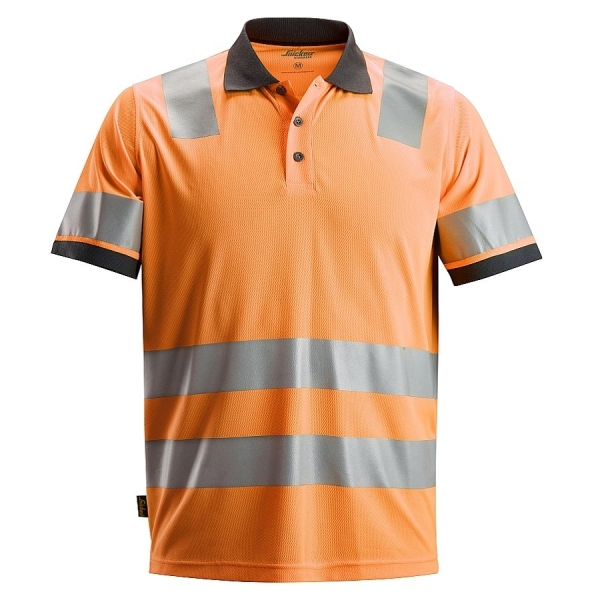 2730 Snickers AllroundWork High-Vis Polo Shirt