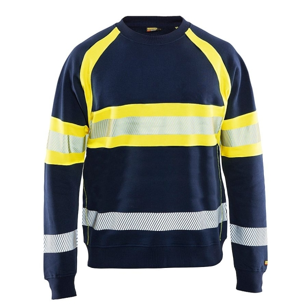 3359 Blakläder® Sweatshirt High-Vis 100% Baumwolle