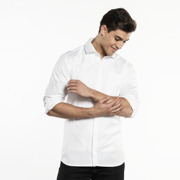 606 Chaud Devant® Service Hemd UFX White