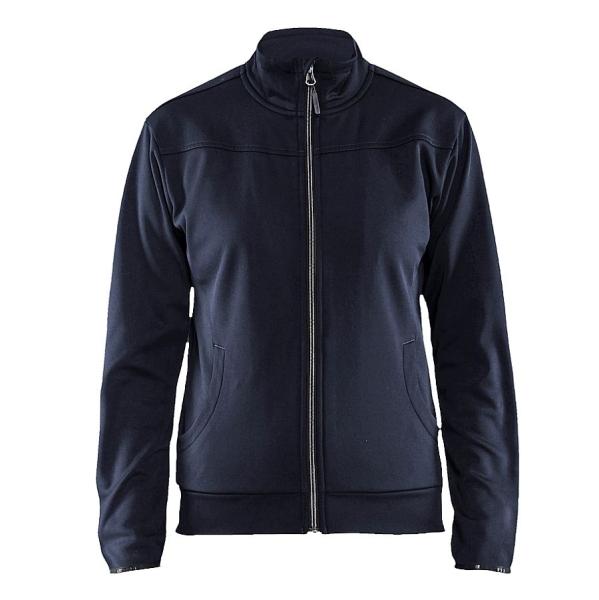3394 Blakläder® Damen Sweatshirt m. Reißverschluss