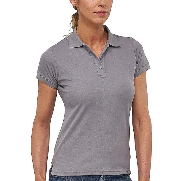 MS4006 Macseis® Flash Damen Poloshirt grau
