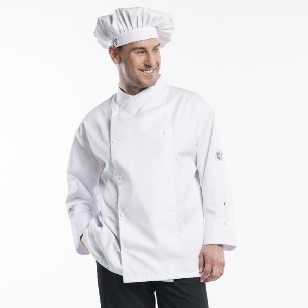 208 Chaud Devant® Kochjacke Comfort weiss