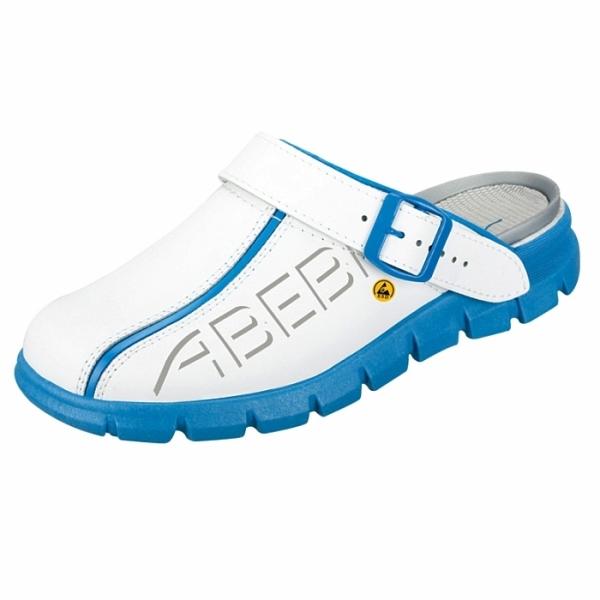 Abeba® Dynamic Clog ESD 37312 OB weiss/blau
