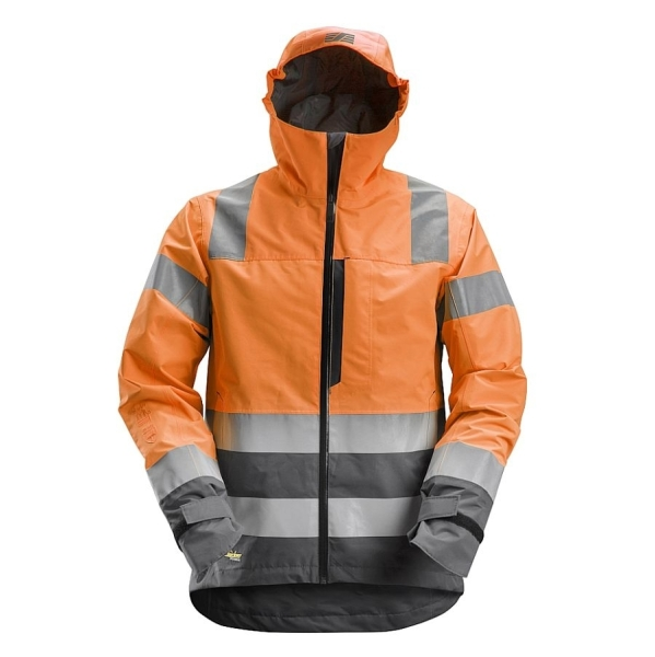 1330 Snickers AllroundWork Shelljacke High-Vis
