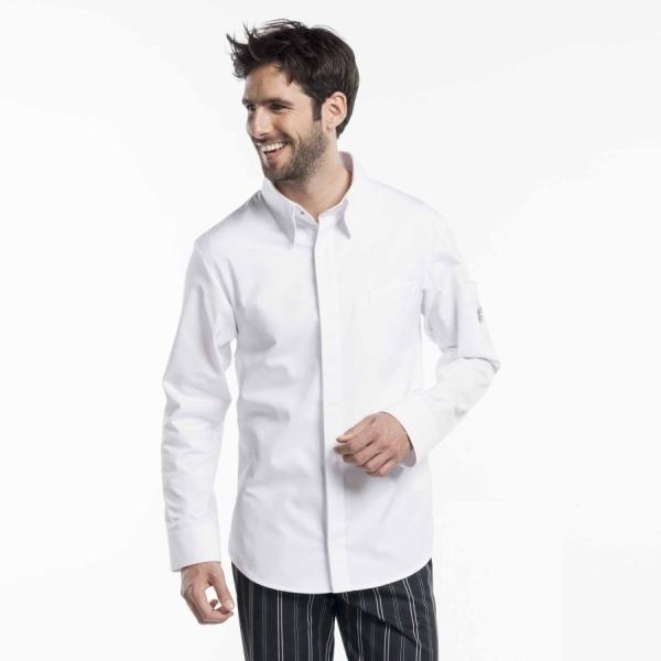 990 Chaud Devant® Kochhemd weiss