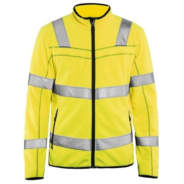 4941 Blakläder® Microfleece Jacke Warnschutz