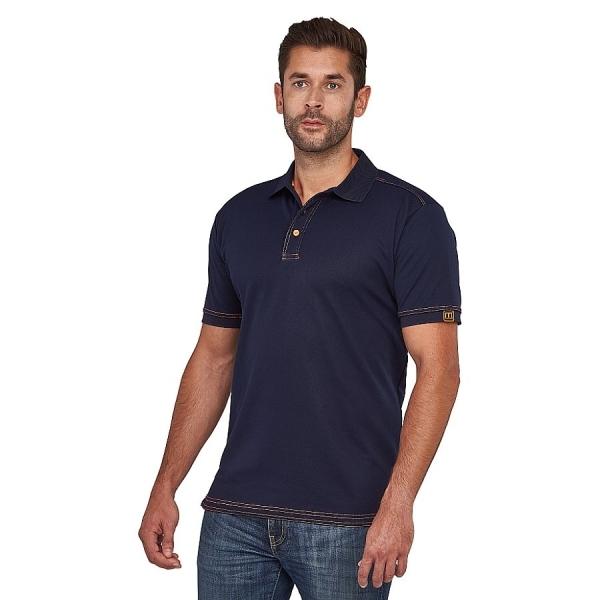 MWW400002 Macseis® Signature Poloshirt navy/orange