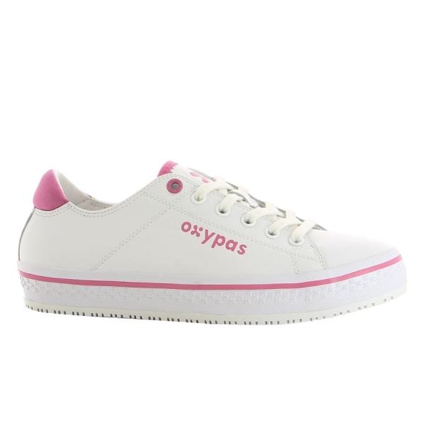 OXYPAS Sneaker Paola fuchsia EN 20347 SRC ESD
