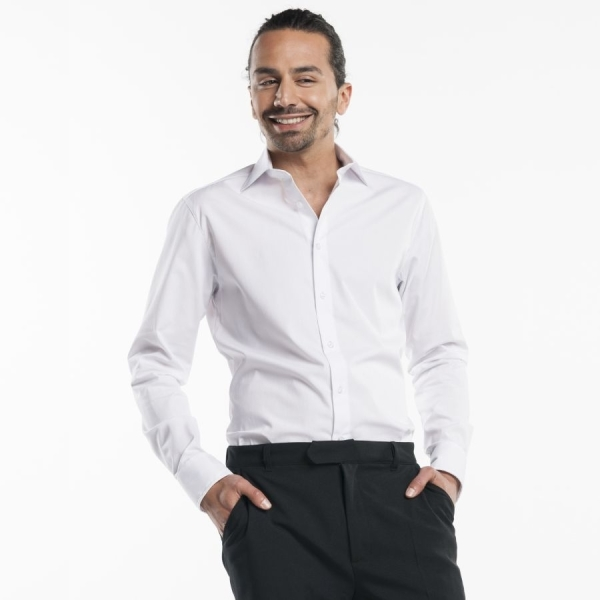 614 Chaud Devant® Service Hemd White