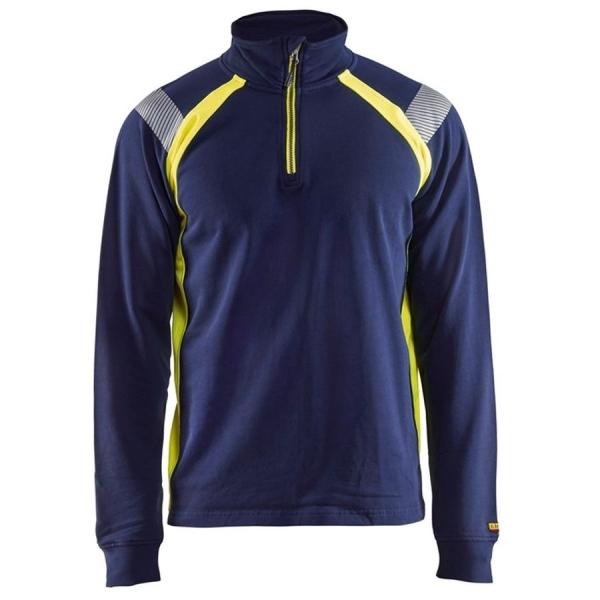 3432 Blakläder® Sweatshirt mit 1/2 Reißverschluss