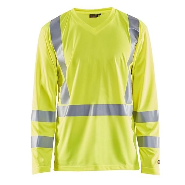 3383 Blakläder® Langarm-Shirt Warnschutz