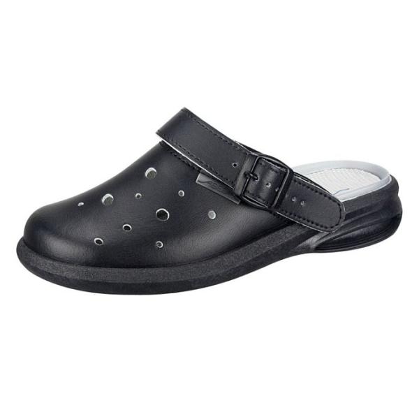 Abeba® easy Clog 7631 OB schwarz