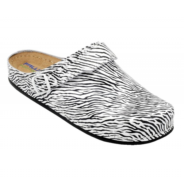 12052 AWC Tiefbett Clog Deko Line Zebra
