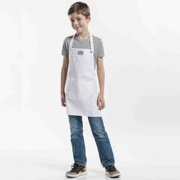 551 Chaud Devant® Latzschürze Kids White
