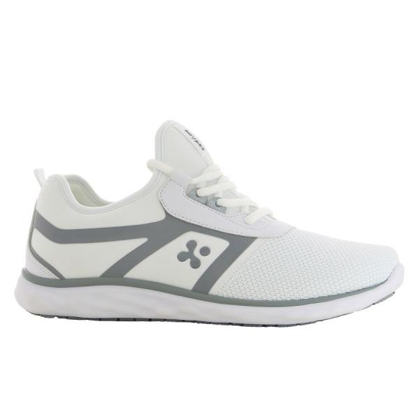 OXYPAS Sneaker Karla weiss/hellgrau EN 20347 SRC