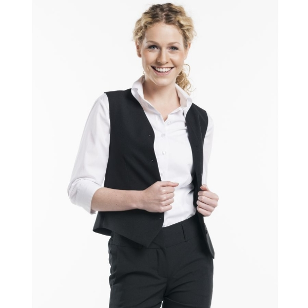 601 Chaud Devant® Service Weste Women Black
