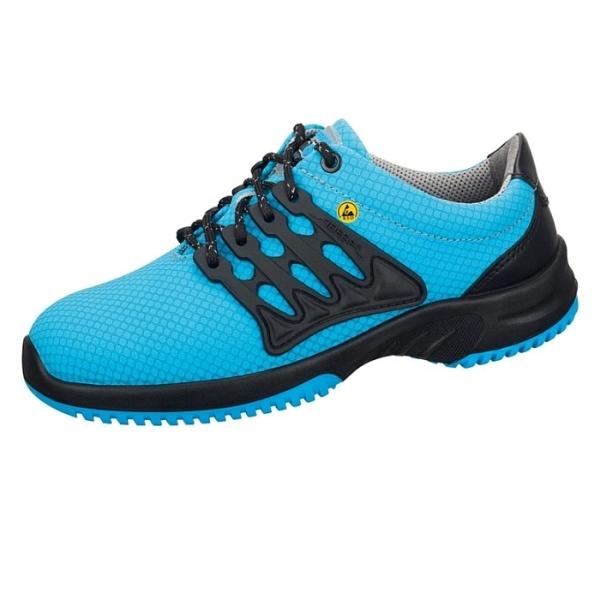 Abeba® uni6 Sicherheitsschuh ESD 31762 S1 blau