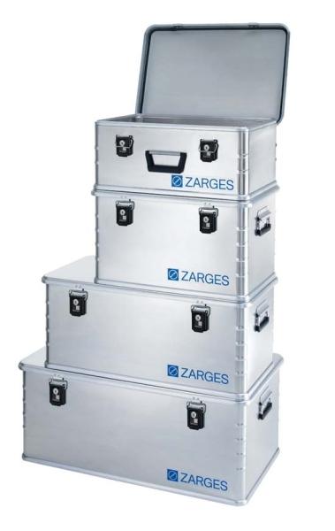 Zarges Box mit Steckschloss