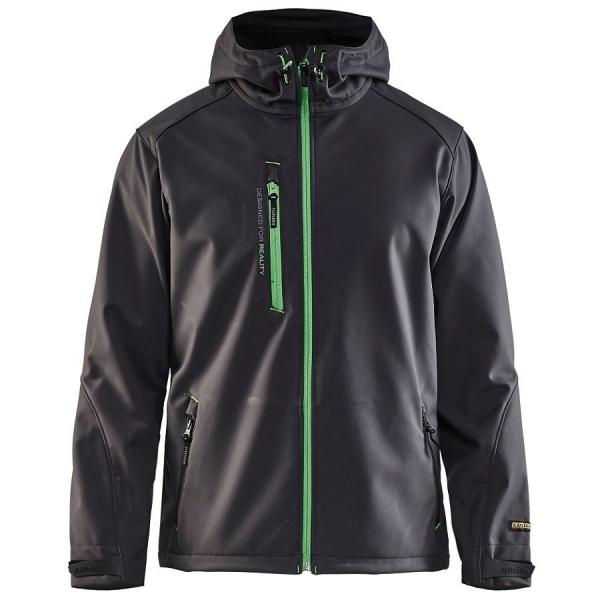 4949 Blakläder® Softshell Jacke mit Kapuze