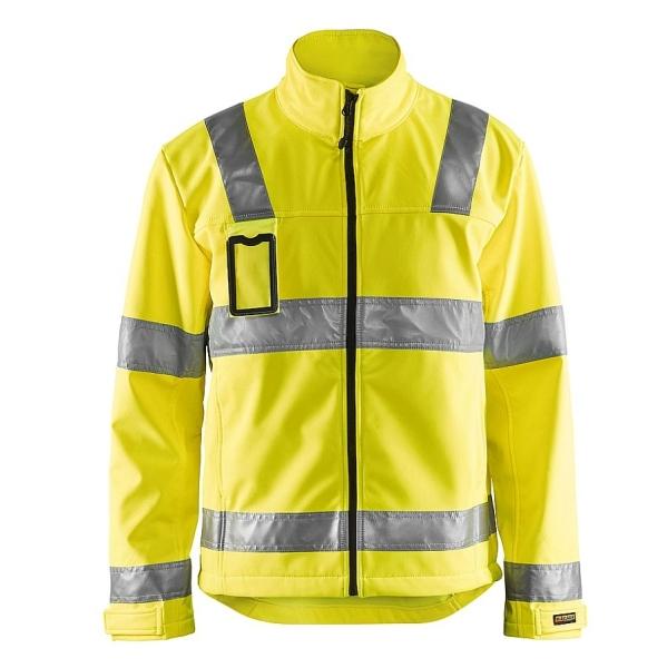4838 Blakläder® Softshell Jacke Warnschutz