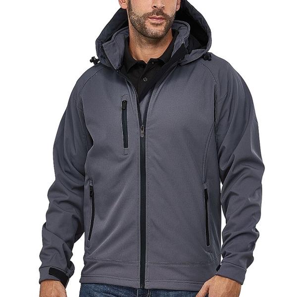 MS25009 Macseis® Safari Softshell Jacke grau