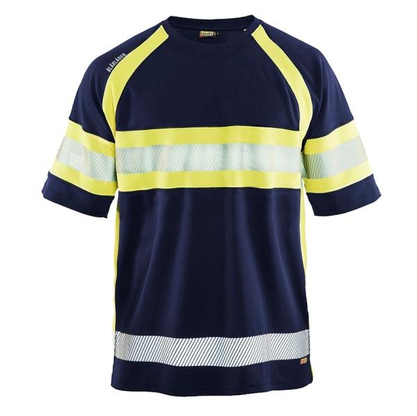 3337 Blakläder® T-Shirt High-Vis mit UV-Protection