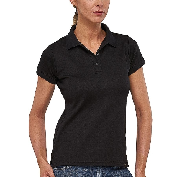 MS4001 Macseis® Flash Damen Poloshirt schwarz