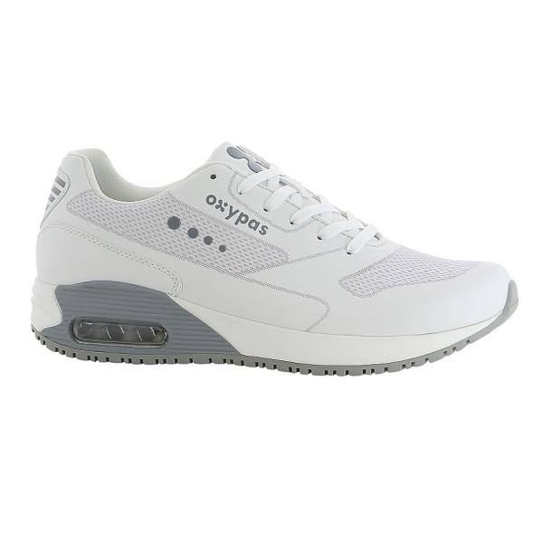 OXYPAS Sneaker Justin hellgrau EN 20347 SRC ESD