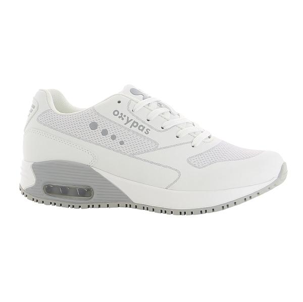 OXYPAS Sneaker Ela hellgrau EN 20347 SRC ESD