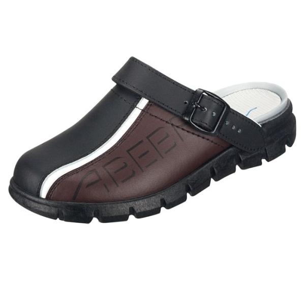 Abeba® Dynamic Clog 7315 OB schwarz/braun