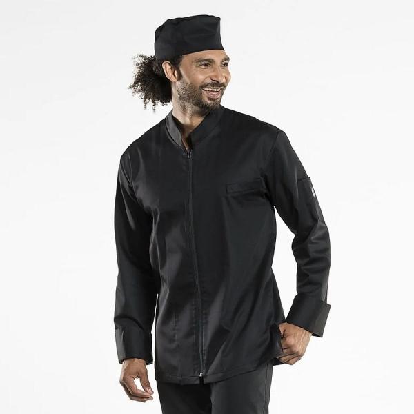 951 Chaud Devant® Kochjacke Monza schwarz