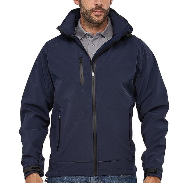 MS25003 Macseis® Safari Softshell Jacke marineblau