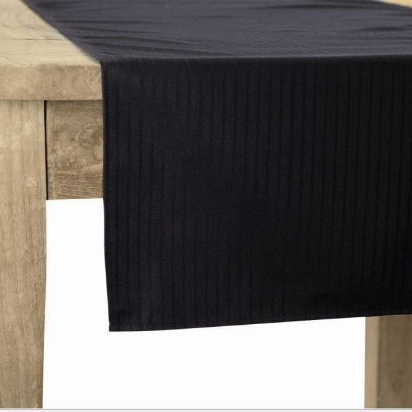 803 Chaud Devant® Tischläufer Santino Black