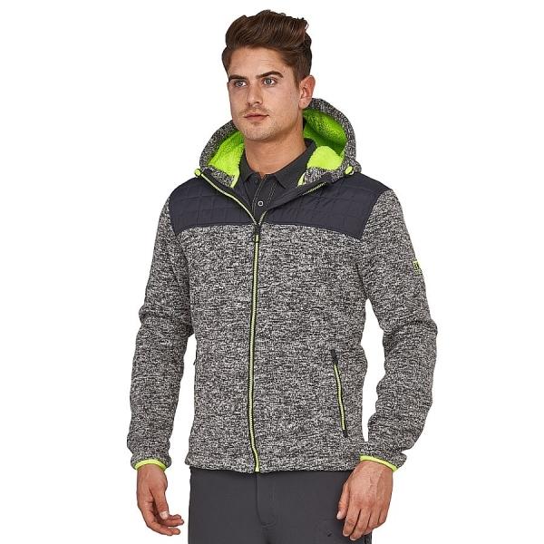 MS26015 Macseis® Riptide Hybrid Jacke grau/grün