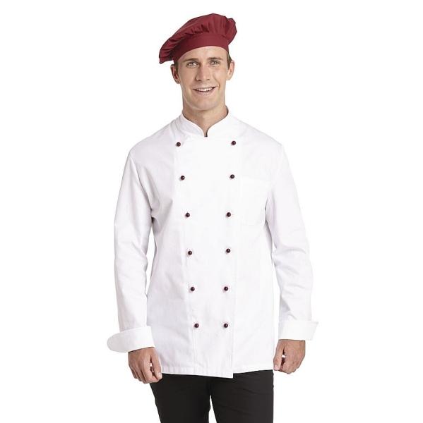 12/5510 Leiber Kochjacke 100% Baumwolle