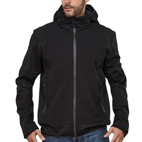MS40001 Macseis® Venture Softshell Jacke schwarz