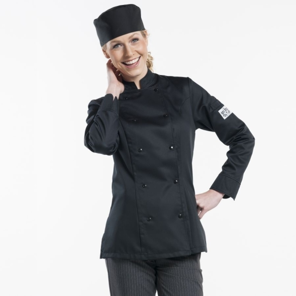 228 Chaud Devant® Kochjacke Lady Comfort Black