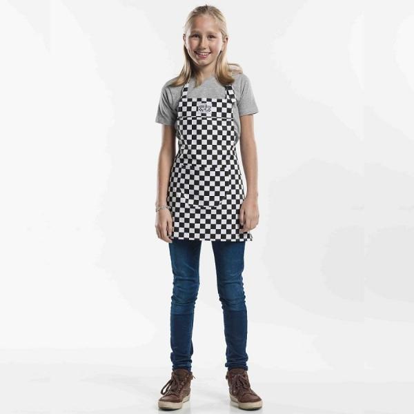 568 Chaud Devant® Latzschürze Kids Domino