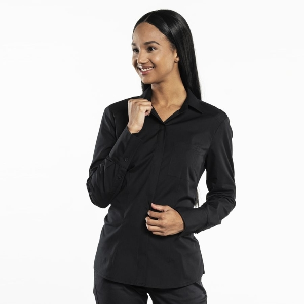 607 Chaud Devant® Service Bluse UFX Black
