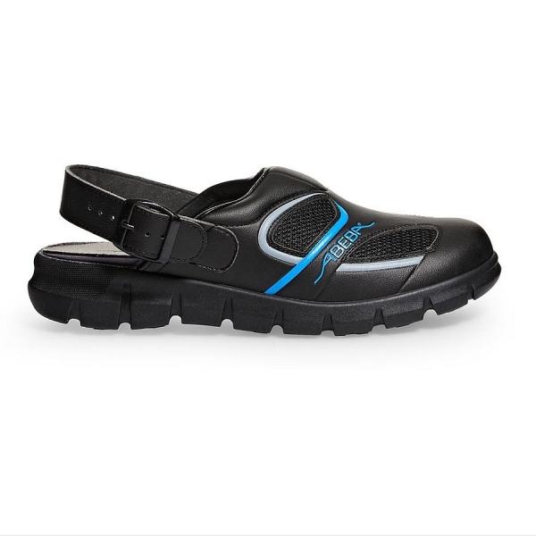 Abeba® Dynamic Clog 7341 OB schwarz/blau