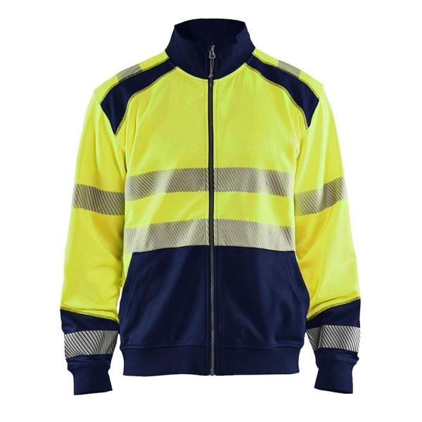 3558 Blakläder® Sweatshirt mit Reißverschluss