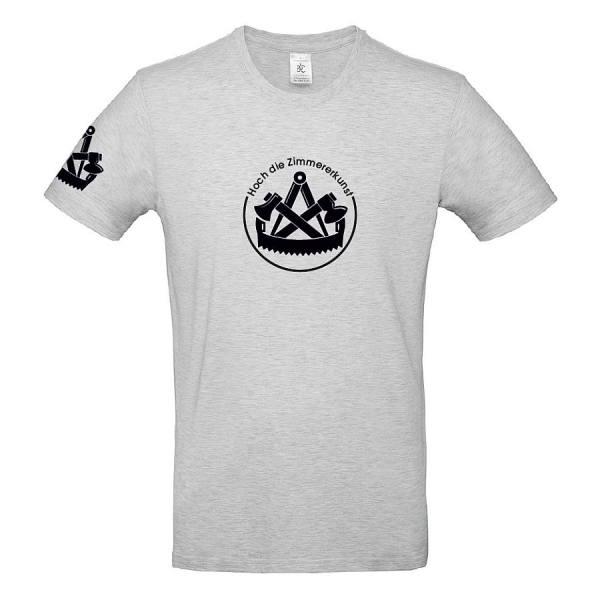 B&C T-Shirt 100% Baumwolle mit Zimmerer Logo