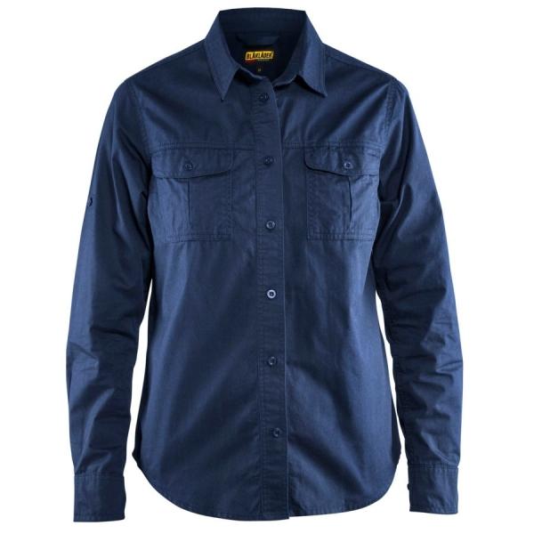 3208 Blakläder® Damen Twill Hemd