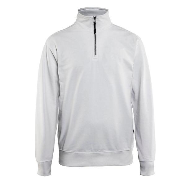 3369 Blakläder® Sweatshirt mit 1/2 Reißverschluss