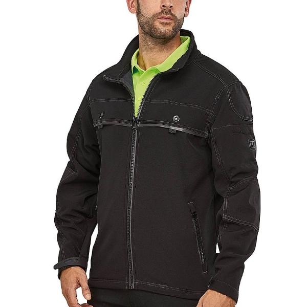 MWW300001 Macseis® Proneon Arbeitsjacke schwarz