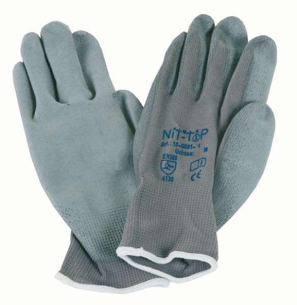 NiT-ToP Nylon Handschuh mit PU-Beschichtung