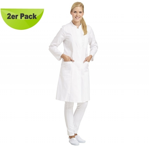 08/579 Leiber Damen Mantel 2er Pack 100% Baumwolle