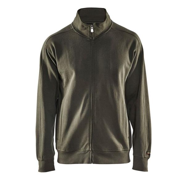 3349 Blakläder® Sweatshirt mit Reißverschluss