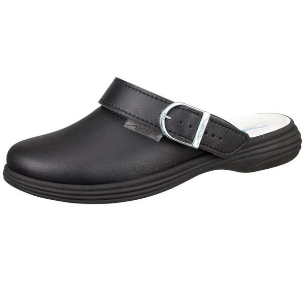 Abeba Clog 7531 OB schwarz