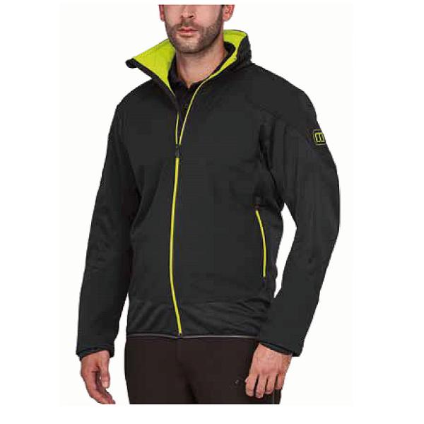 MS40011 Macseis® Venture Softshell Jacke schwarz
